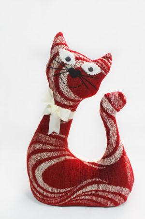 Gatos de tela coleccion fuego modelo Luna