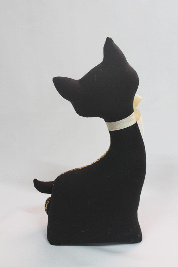 Gato de tela de Leopardo - Modelo Rabito