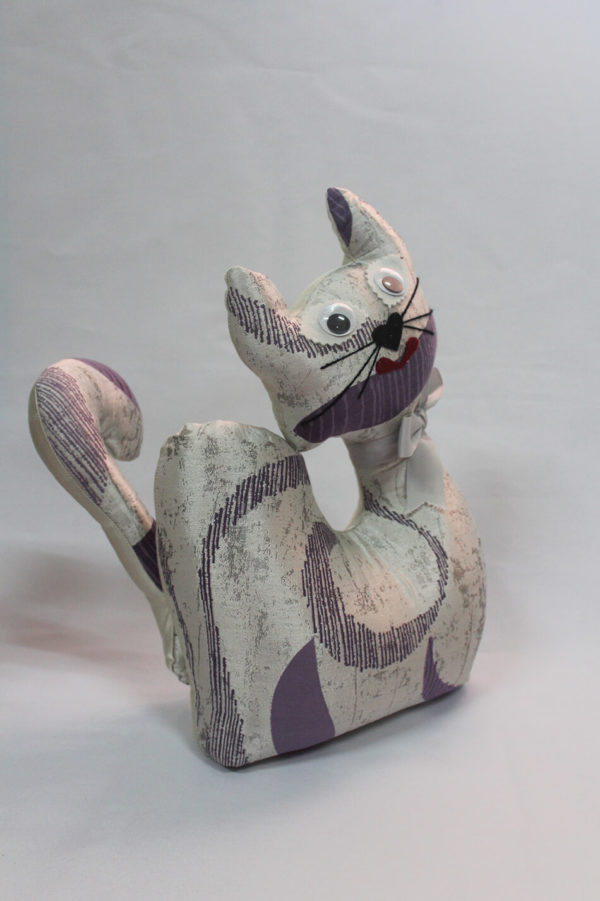 Culón - Gato de tela coleccion Malva
