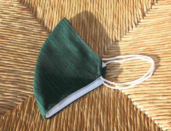 Mascarilla de tela Verde